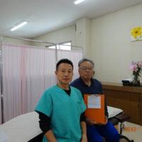 上田市にお住いの60歳代男性